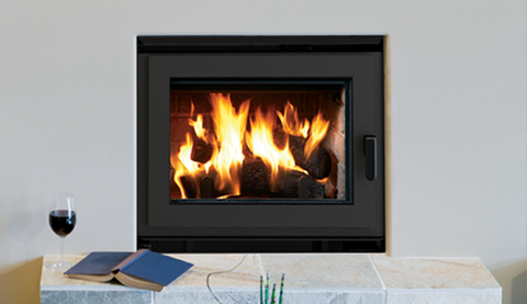Ladera Wood Burning Fireplace