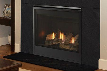 Mercury Traditonal Style Direct Vent Gas Fireplace
