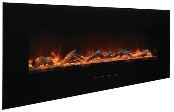 "48"" Flush Mount Electric Fireplace"