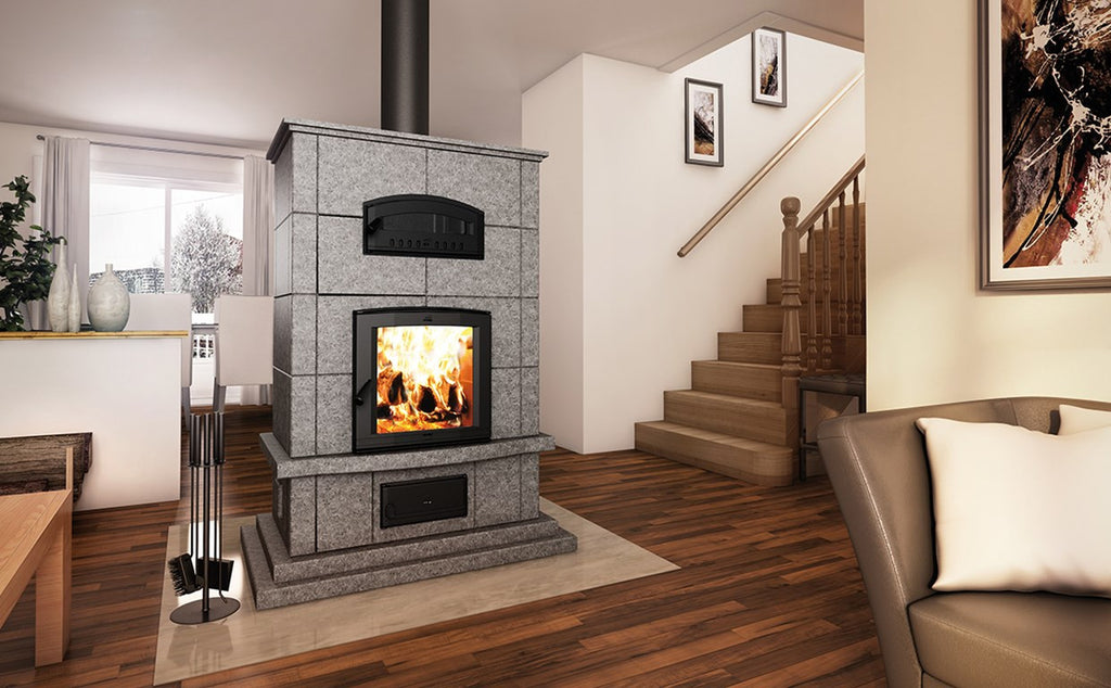 Masonry Heater FM1000 Mass Fireplace With Oven