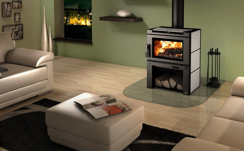 Matrix Wood Stove With Blower