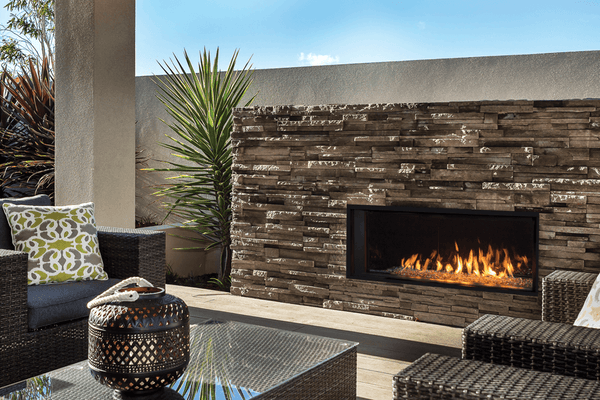 L1 Linear Fireplace