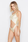 FLUX ONE-PIECE - SHIMMER FIRE - Ris-k Swimwear