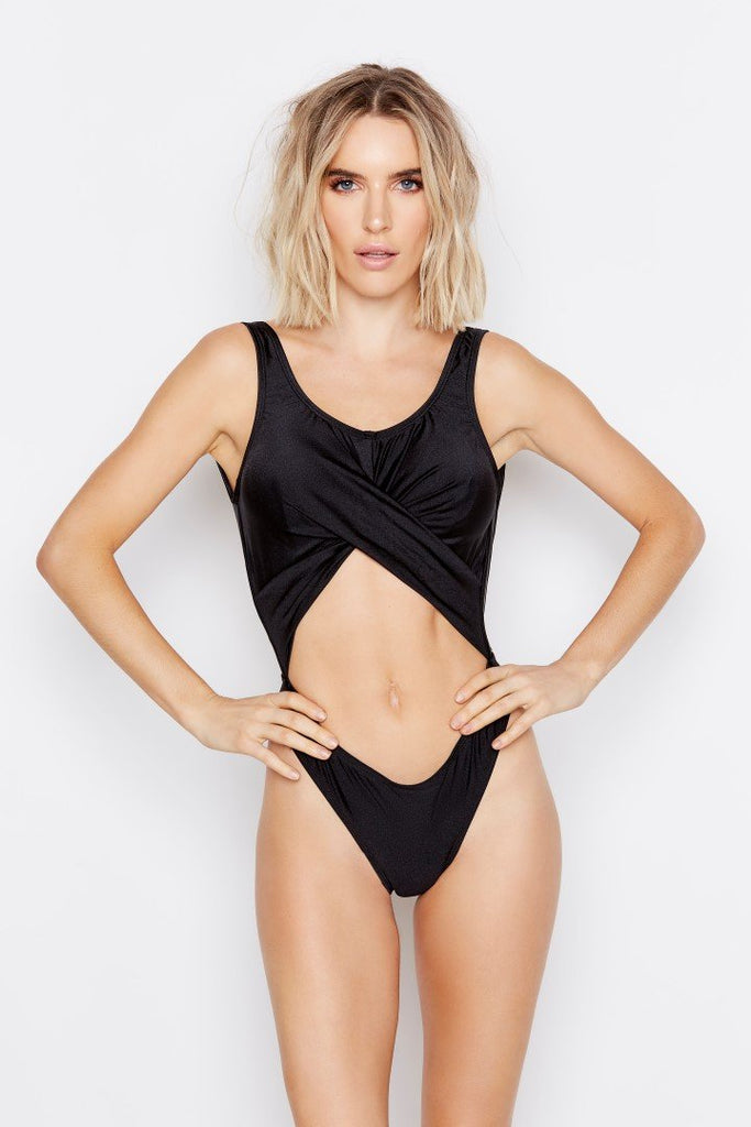 FLUX ONE-PIECE - SHIMMER CLOUD - Ris-k Swimwear