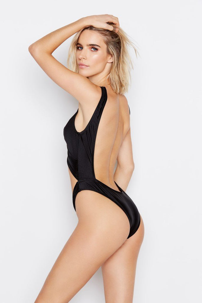 FLUX ONE-PIECE - SHIMMER MARINA - Ris-k Swimwear