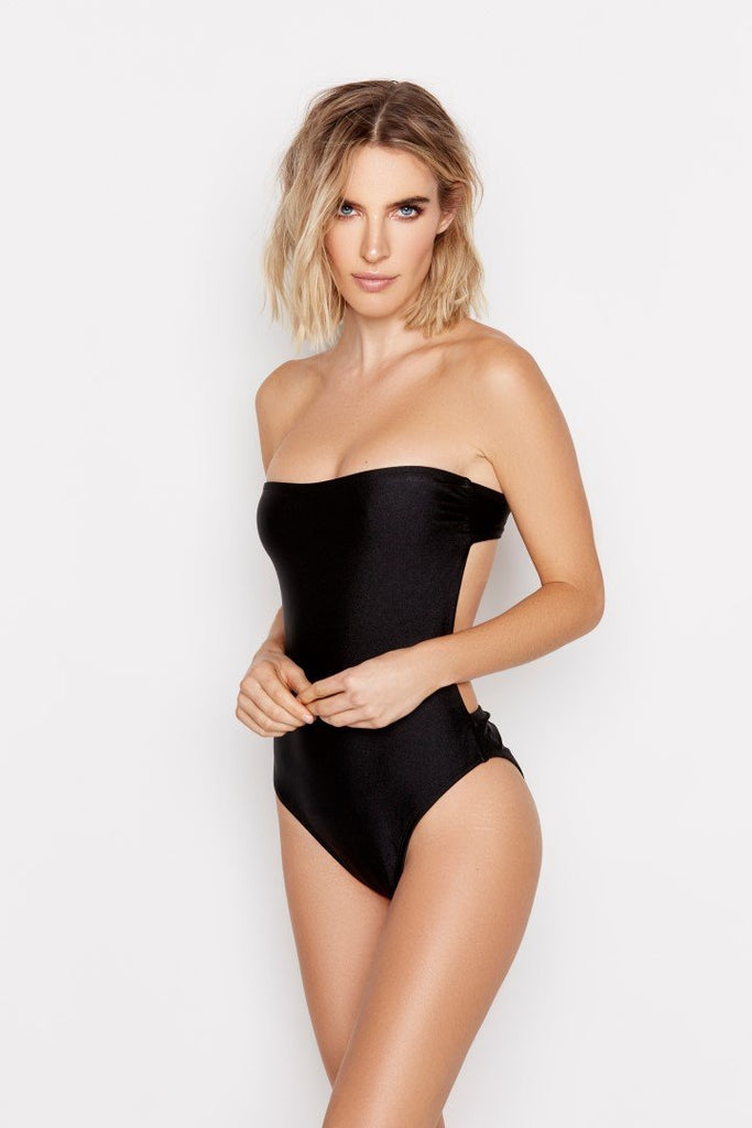 CHANCE ONE-PIECE - SHIMMER JET - Ris-k Swimwear