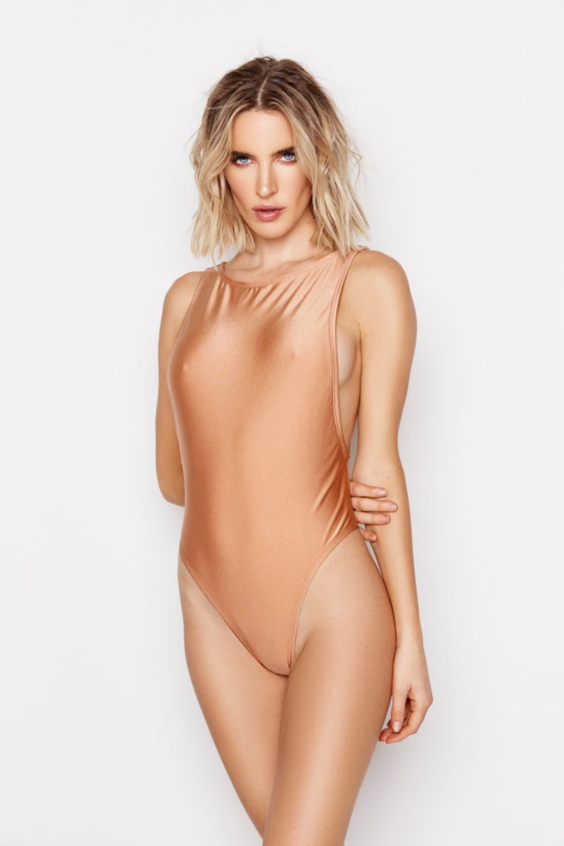 ISLA ONE-PIECE - NUDE - Ris-k Swimwear