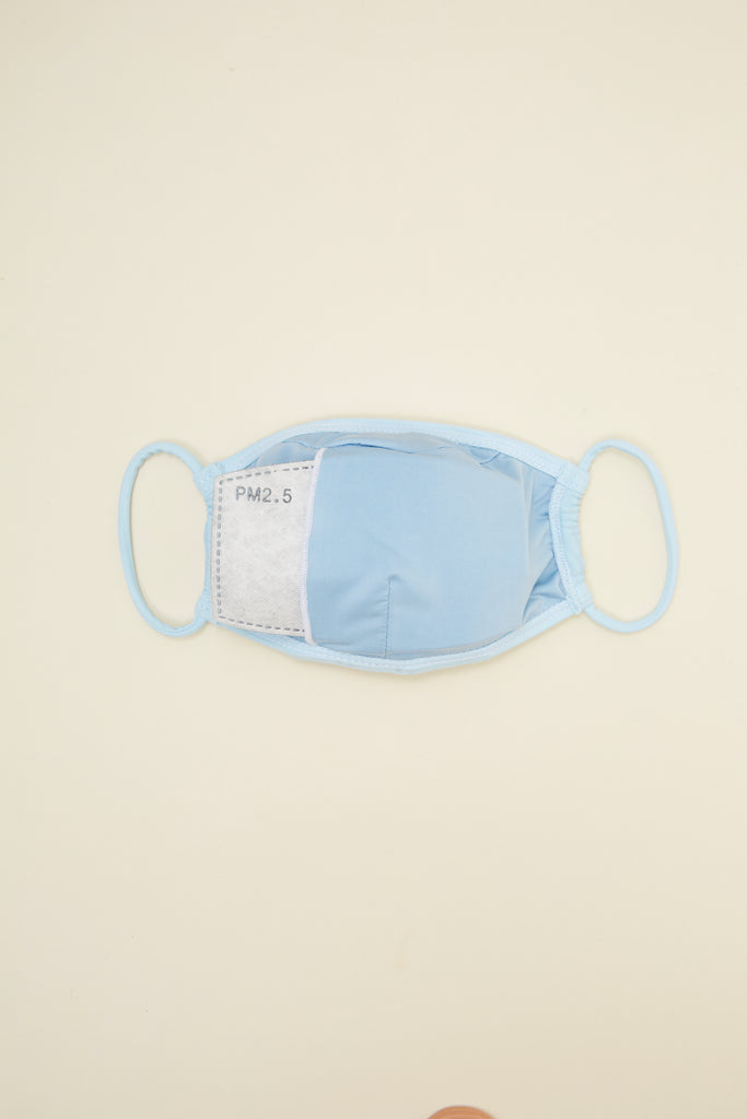 Face Mask with Nose Clip