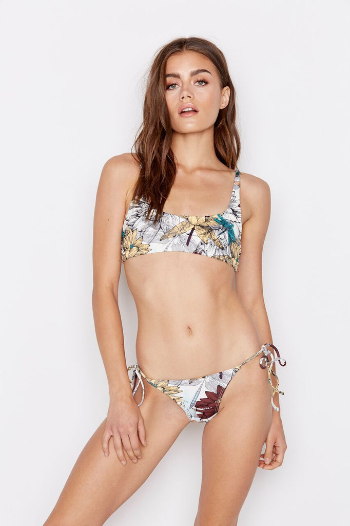 ALLURE BIKINI TOP - LOTUS MULTI - Ris-k Swimwear