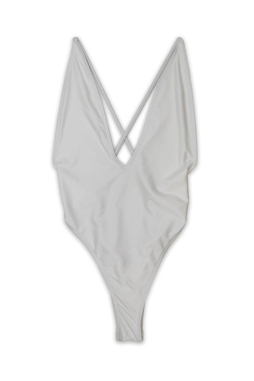 PARADISE ONE-PIECE SWIMSUIT - SHIMMER SALT - Ris-k Swimwear