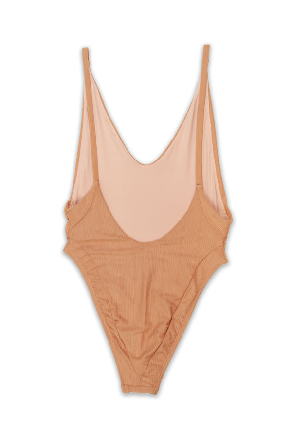 VOYAGER  ONE-PIECE SWIMSUIT - NUDE - Ris-k Swimwear