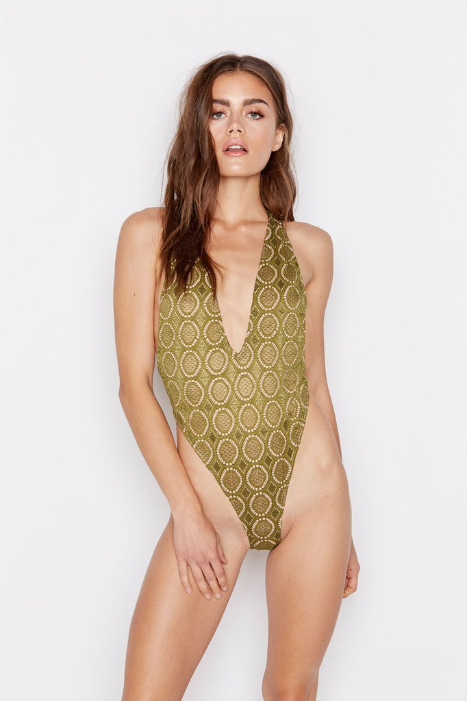 PARADISE ONE-PIECE - BELLA MOSS - Ris-k Swimwear