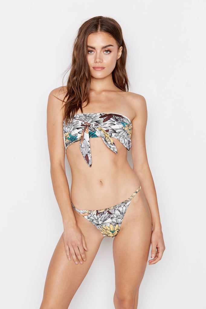 SWELL BIKINI TOP - LOTUS MULTI - Ris-k Swimwear