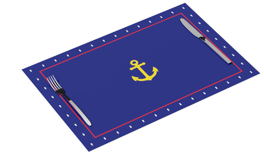 All Aboard! Placemats pad