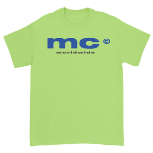 MC WORLDWIDE 2019 TEE - LIME