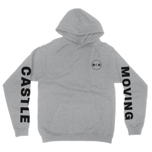 Moving Castle Hoodie - Ash Grey