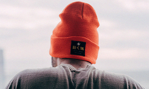 Orange Moving Castle Beanie
