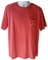 Red I Whale Lawrence Pocket Short-Sleeve T-Shirt