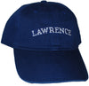 "Navy ""Lawrence"" Needlepoint Cap"