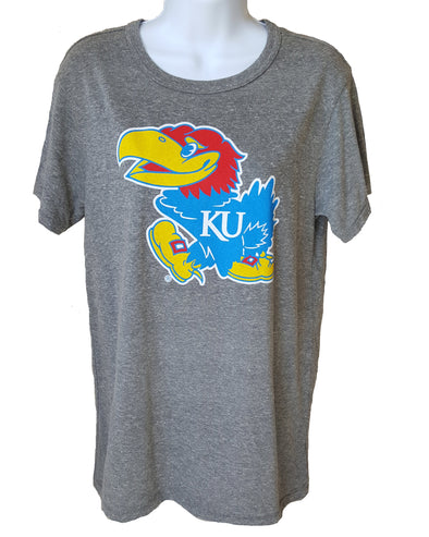 Women's Kansas Jayhawk Short-Sleeve T-Shirt