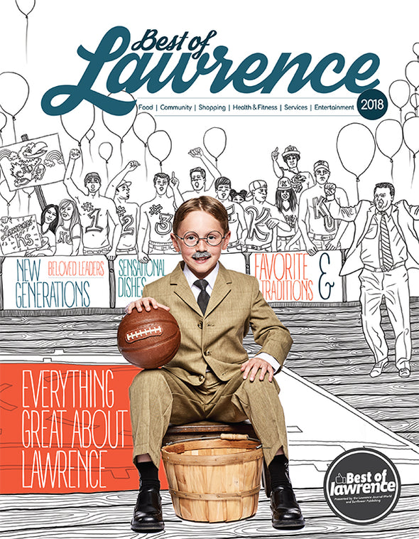 2018 Best of Lawrence Magazine