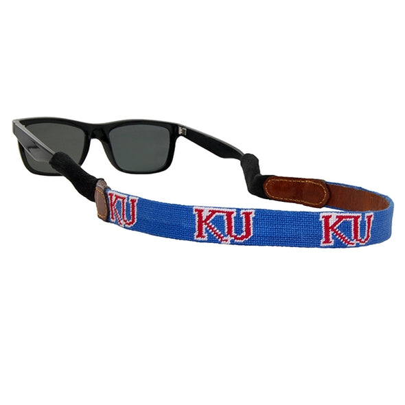 Kansas Needlepoint Sunglass Strap