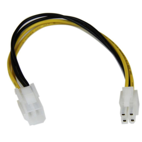 4-Pin M/F P4 CPU 8 inch ATX12V  Power Extension Cable