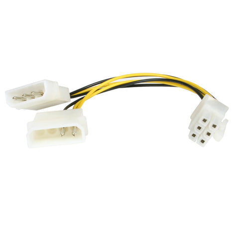 6 Pin PCI Express Video Card Power Cable Adapter - Lightning Computers