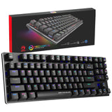 Marvo PRO KG934 TKL Form Factor RGB Mechanical Keyboard with Blue Switches