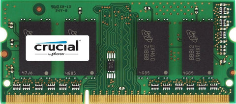 Crucial CT51264BF160B 4GB SODIMM DDR3 PC3-12800 Unbuffered NON-ECC 1.35V - Lightning Computers - 1