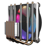 GameMax Gamma 300 Rainbow ARGB CPU Cooler Aura Sync 3 Pin