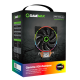 GameMax Gamma 500 Rainbow ARGB CPU Cooler Aura Sync