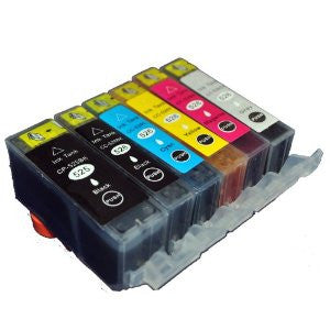Canon PGI-525 CLI-526 Set of 6 inks (includes grey) - Lightning Computers