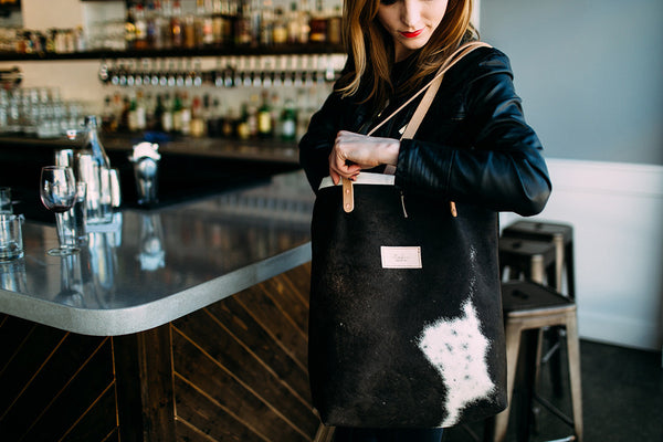 Berlin Tote | Limited Edition Cowhide