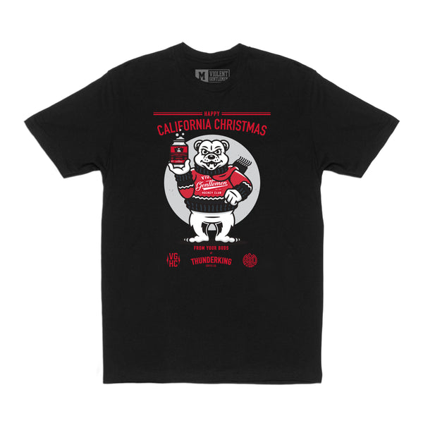 ThunderKing X Violent Gentlemen California Christmas Tee