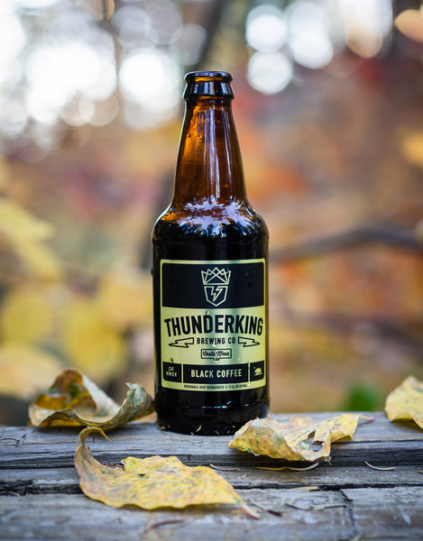 Black Coffee Cold Brew 12oz Case (24 bottles)