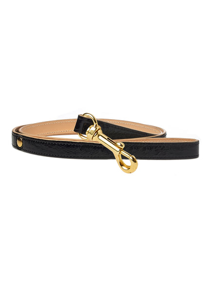 Classic Patent Dog Lead Black