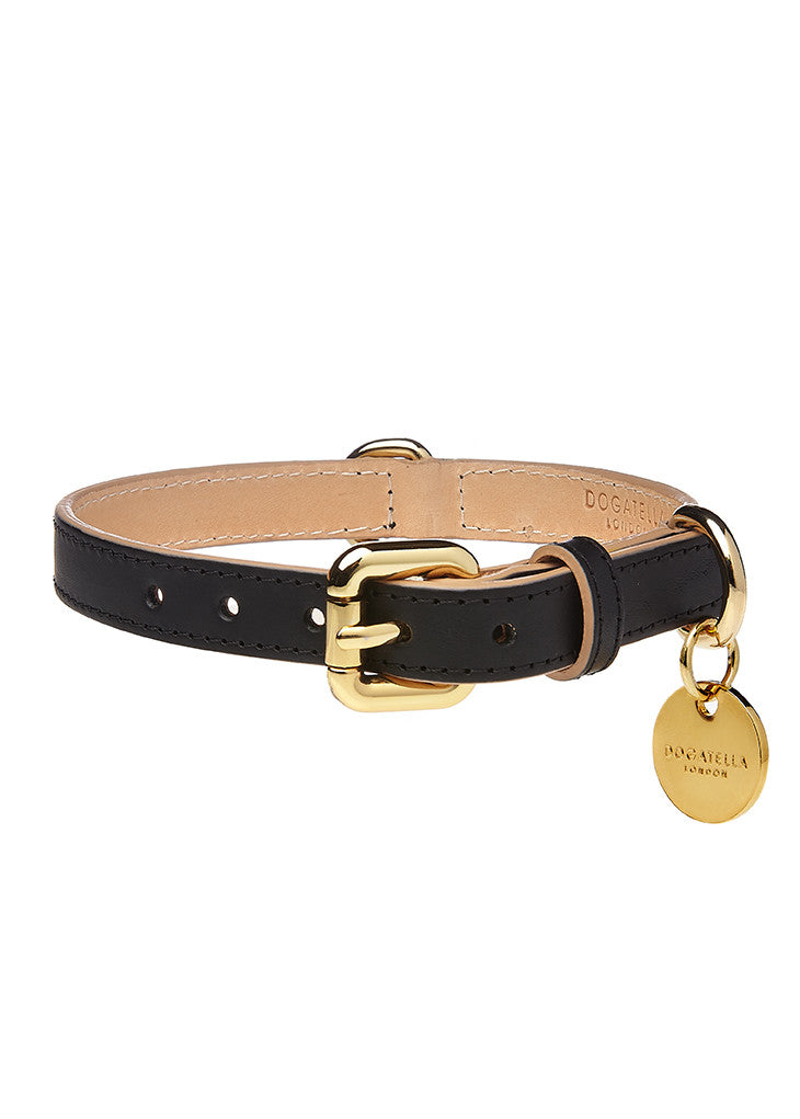 Classic Dog Collar Black