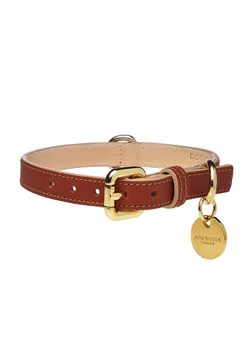 Classic Dog Collar Brown