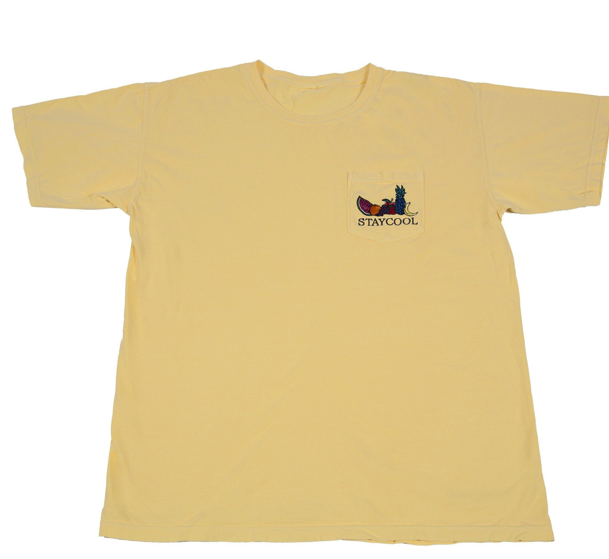 Fruit Tee (Light Yellow)