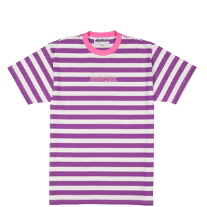 Grape Striped Tee