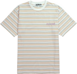 Peach Striped Tee