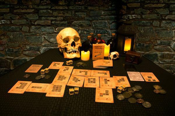 dungeon dealers maze and chamber decks game