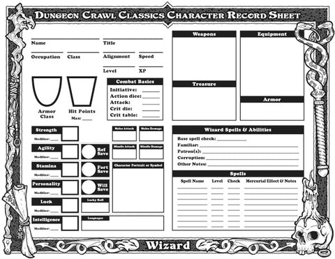 dungeon crawl classics character sheet