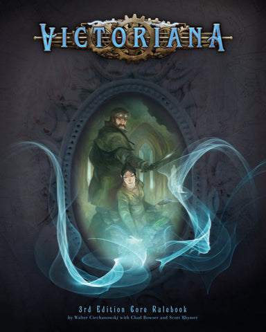 Victoriana RPG Game Cover