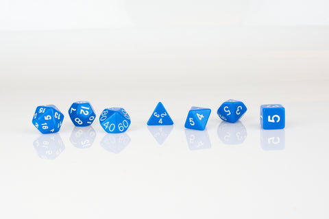 7 piece rpg dice