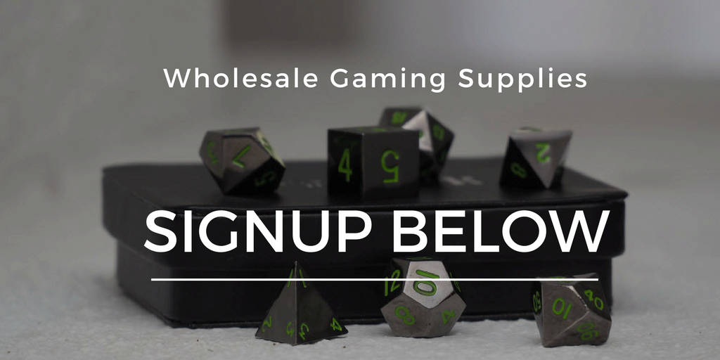 wholesale dice and gaming supplies