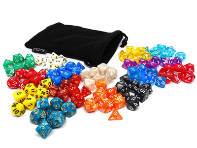 15 Complete Sets For Dungeons and Dragons,105 Count Collection