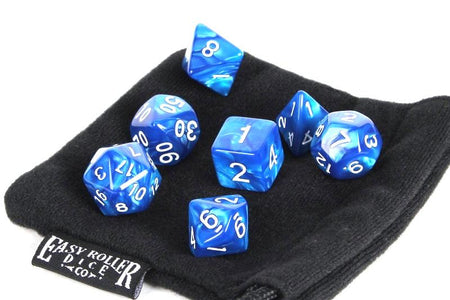Blue Marble - 7 Piece Set with Bag
