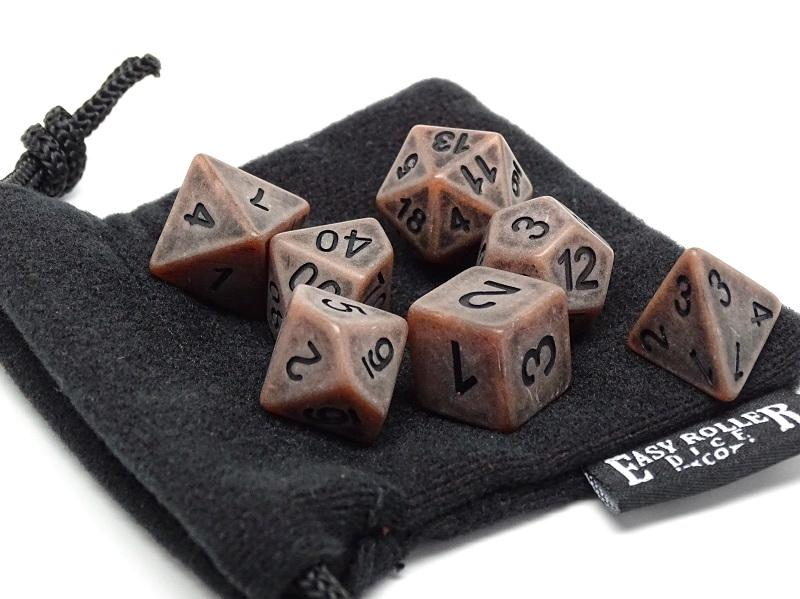 Dirty Earth Dice Set - 7 Piece Collection